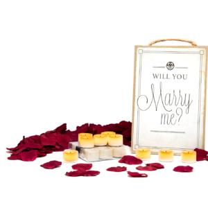Marriage proposal decor